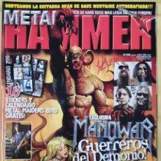 Revistas de música: REVISTA METAL HAMMER 266, ENERO 2010. Lote 295785488