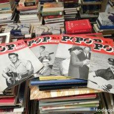 Revistas de música: LOTE DE 5 EJEMPLARES REVISTA MUSICAL POP WEEKLY ( Nº 2 , 5 , 11 , 17 , 20 ) . PORTADAS ELVIS PRESLEY. Lote 295785508