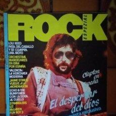 Revistas de música: ROCK ESPEZIAL NÚMERO 21. ERIC CLAPTON EN PORTADA.. Lote 295819168