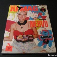 Revistas de música: REVISTA THE IUMAG USHUAÏA IBIZA NERVO DJ TINIE TEMPAH LUCAS DI GIACOMO AXWELL INGROSSO 2015. Lote 295820063