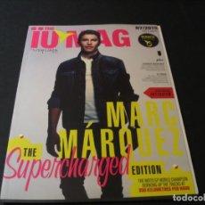 Revistas de música: REVISTA THE IUMAG USHUAÏA IBIZA MARC MARQUEZ DAVID GUETTA DJ SASHA JOSH BUTLER AXWELL INGROSSO 2015. Lote 295820408