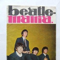 Revistas de música: BEATLES ELVIS PRESLEY JOHNNY HALLYDAY ROLLING STONES SIREX REVISTA BEATLEMANIA ORIGINAL AÑOS 60. Lote 296585308