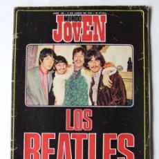 Revistas de música: MUNDO JOVEN 192 BEATLES CHICORY TRIP CECILIA RARE EARTH JOHNNY HALLYDAY. Lote 296587178