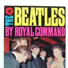 Revistas de música: REVISTA MONOGRAFICA THE BEATLES BY ROYAL COMMAND 4 NOVIEMBRE 1963. Lote 296588038