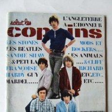 Revistas de música: SALUT LES COPAINS 37 ROLLING STONES BEATLES FRANCOISE HARDY MARIANNE FAITHFULL SANDIE SHAW MODS ROCK. Lote 296588223