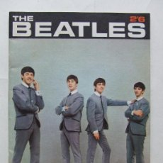 Revistas de música: REVISTA MONOGRAFICA THE BEATLES 2'6 PYX PRODUCTIONS 1963. Lote 296588893