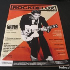 Revistas de música: REVISTA ROCKDELUX 360 CHUCK BERRY THE JESUS AND MARY CHAIN ROSALÍA ANDREA MOTIS GRACE JONES 2017. Lote 296620243