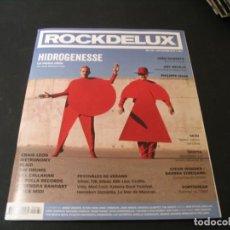 Revistas de música: REVISTA ROCKDELUX 386 HIDROGENESE METRONOMY LA POLLA RECORDS JOAO GILBERTO 2019. Lote 296620743