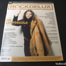 Revistas de música: REVISTA ROCKDELUX 358 SIN CD GEORGE MICHAEL JOE CREPÚSCULO MALANDRÓMENA CORCOBADO 2017. Lote 296621103