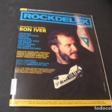 Revistas de música: REVISTA ROCKDELUX 298 SIN CD BON IVER CAPULLO DE JEREZ BOMBINO DAS RACIST CUT HANDS 2011. Lote 296621618