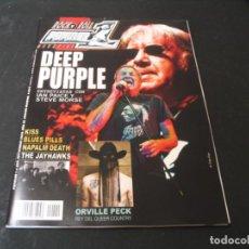Revistas de música: REVISTA POPULAR 1 Nº 555 DEEP PURPLE KISS NAPALM DEATH BARON ROJO 2020. Lote 296622563