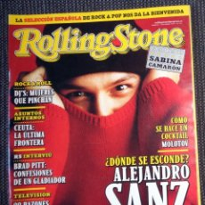 Revistas de música: REVISTA ROLLING STONE Nº1 NOVIEMBRE 1999 LOQUILLO BUNBURY URRUTIA - ALEJANDRO SANZ - PRIMER NÚMERO!!. Lote 297269168