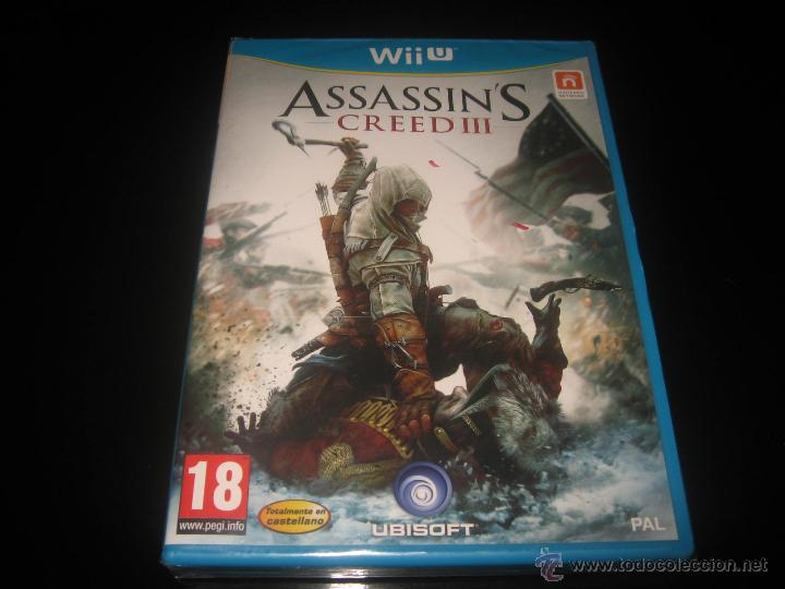 ASSASSIN'S CREED III NINTENDO WII U PAL ESPAÑA PRECINTADO (Juguetes - Videojuegos y Consolas - Nintendo - Wii U)