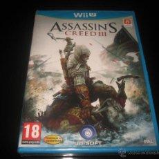 Nintendo Wii U: ASSASSIN'S CREED III NINTENDO WII U PAL ESPAÑA PRECINTADO. Lote 44154636