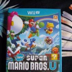Nintendo Wii U: WII U - NEW SUPER MARIO BROS U - NUEVO PRECINTADO - EDICIÓN ESPAÑA. Lote 49361650