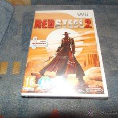 Nintendo Wii U: JUEGO NINTENDO WII Y WII U RED STEEL 2 PAL ESPAÑA ,NUEVO PRECINTADO. Lote 50277500
