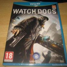 Nintendo Wii U: WATCH DOGS NINTENDO WII U PAL ESPAÑA PRECINTADO. Lote 60640435