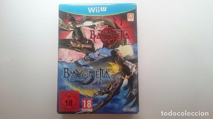 BAYONETTA 1 + 2 EDICION ESPECIAL LIMITADA COLECCIONISTA PAL WII U WIIU NUEVO (Juguetes - Videojuegos y Consolas - Nintendo - Wii U)