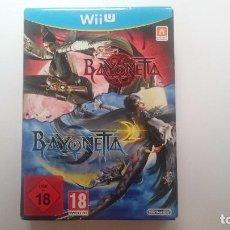 Nintendo Wii U: BAYONETTA 1 + 2 EDICION ESPECIAL LIMITADA COLECCIONISTA PAL WII U WIIU NUEVO. Lote 64595683