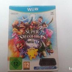 Nintendo Wii U: SUPER SMASH BROS + ADAPTADOR MANDO EDICION LIMITADA PAL WII U WIIU NUEVO.RARO.. Lote 132652286