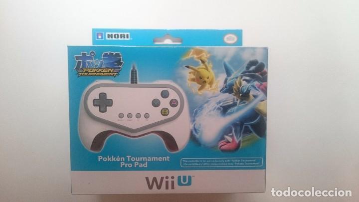 MANDO HORI POKKEN TOURNAMENT EDICION LIMITADA PAL PRO PAD WII U WIIU NUEVO.RARÍSIMO (Juguetes - Videojuegos y Consolas - Nintendo - Wii U)