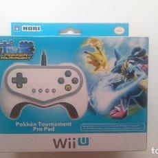 Nintendo Wii U: MANDO HORI POKKEN TOURNAMENT EDICION LIMITADA PAL PRO PAD WII U WIIU NUEVO.RARÍSIMO. Lote 64597451