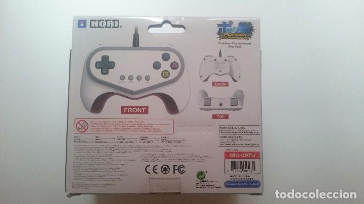 Nintendo Wii U: MANDO HORI POKKEN TOURNAMENT EDICION LIMITADA PAL PRO PAD WII U WIIU NUEVO.RARÍSIMO - Foto 2 - 64597451