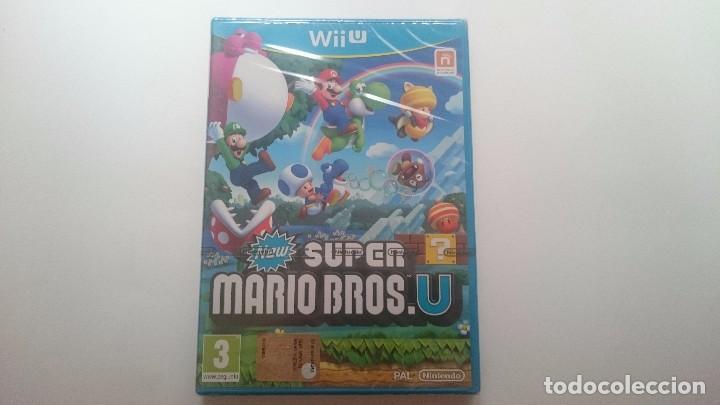 NEW SUPER MARIO BROS U PAL WII U WIIU NUEVO PRECINTADO. SEALED CASTELLANO (Juguetes - Videojuegos y Consolas - Nintendo - Wii U)