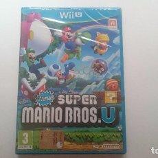 Nintendo Wii U: NEW SUPER MARIO BROS U PAL WII U WIIU NUEVO PRECINTADO. SEALED CASTELLANO. Lote 64599255