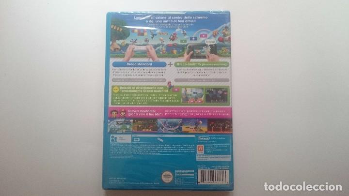Nintendo Wii U: NEW SUPER MARIO BROS U PAL WII U WIIU NUEVO PRECINTADO. SEALED CASTELLANO - Foto 2 - 64599255