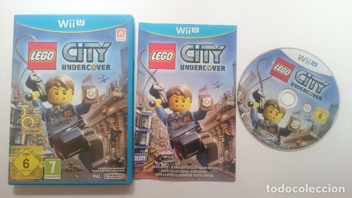 LEGO CITY UNDERCOVER PRIMERA EDICION PAL WII U WIIU CASTELLANO ESPAÑA COMO NUEVO (Juguetes - Videojuegos y Consolas - Nintendo - Wii U)