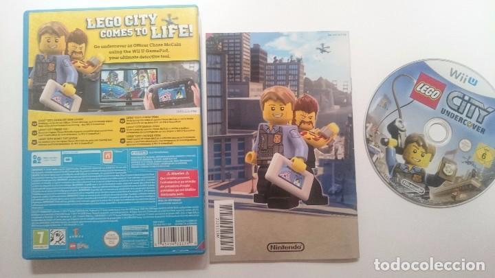 Nintendo Wii U: LEGO CITY UNDERCOVER PRIMERA EDICION PAL WII U WIIU CASTELLANO ESPAÑA COMO NUEVO - Foto 2 - 64624375