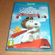 Nintendo Wii U: CARLITOS Y SNOOPY : EL VIDEOJUEGO PARA NINTENDO WII U ,A ESTRENAR, PAL. Lote 72172219