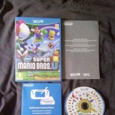 Nintendo Wii U: NEW SUPER MARIO BROS U - NINTENDO WII U - EDICION ESPAÑOLA COMO NUEVO. Lote 76549119