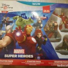 Nintendo Wii U: JUEGO NINTENDO WII U INFINITY 2.0 MARVEL SUPER HEROES LEER. Lote 80085737