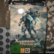Nintendo Wii U: XENOBLADE CHRONICLES X EDICION LIMITADA COLECCIONISTAS NINTENDO WII U PAL ESPAÑA PRECINTADO. Lote 80268769