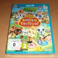 Nintendo Wii U: ANIMAL CROSSING : AMIIBO FESTIVAL PARA NINTENDO WII U ,A ESTRENAR, PAL. Lote 81865720