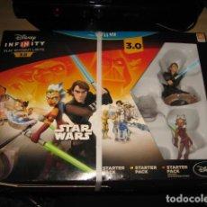 Nintendo Wii U: STAR WARS DISNEY INFINITY 3.0 STARTER PACK NINTENDO WII U PAL ESPAÑA PRECINTADO. Lote 82018136