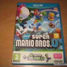 Nintendo Wii U: NEW SUPER MARIO BROS U + NEW SUPER LUIGI U NINTENDO WII U PAL ESPAÑA. Lote 85762024