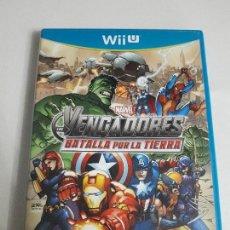 Nintendo Wii U: JUEGO NINTENDO WII U BUEN ESTADO CON INSTRUCCIONES VER FOTOS MARVEL VENGADORES SPIDERMAN AIRONMAN. Lote 86587536