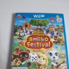 Nintendo Wii U: JUEGO NINTENDO WII U BUEN ESTADO CON INSTRUCCIONES VER FOTOS ANIMAL CROSSING AMIIBO FESTIVAL . Lote 86587804