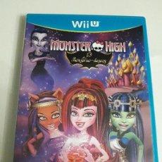 Nintendo Wii U: JUEGO NINTENDO WII U BUEN ESTADO CON INSTRUCCIONES VER FOTOS MONSTER HIGH 13 MONSTRUO DESEOS . Lote 86588092