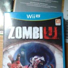 Nintendo Wii U: JUEGO ZOMBI U, CONSOLA WII U CON TODO TIPO DE MANUALES.. Lote 87449456