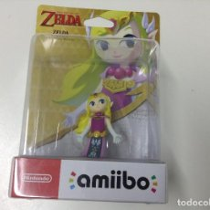 Nintendo Wii U: AMIIBO THE LEGEND OF ZELDA . ZELDA THE WIND WAKER. Lote 95776407