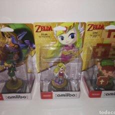 Nintendo Wii U: PACK AMIIBO ZELDA (WIND WAKER+ZELDA 8 BITS,OCARINA OF TIME). Lote 96234632