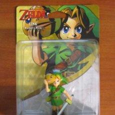Nintendo Wii U: AMIIBO LINK MAJORA'S MASK - LA LEYNDA DE ZELDA. Lote 98581023