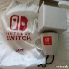Nintendo Wii U: TAZA Y MOCHILA NINTENDO SWITCH AH Y CUCHARITA. Lote 101709947