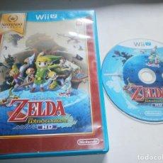Nintendo Wii U: THE LEGEND OF ZELDA THE WIND WAKER HD NINTENDO WII U PAL ESPAÑA . Lote 101994103