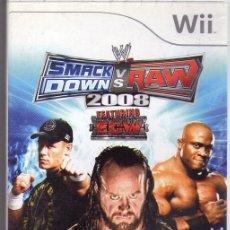 Nintendo Wii U: DOWN`S RAW *** JUEGO WII AÑO 2077. Lote 102944631