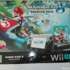 Nintendo Wii U: SOLO CAJA WII U PREMIUM PACK MARIO KART. Lote 103317790